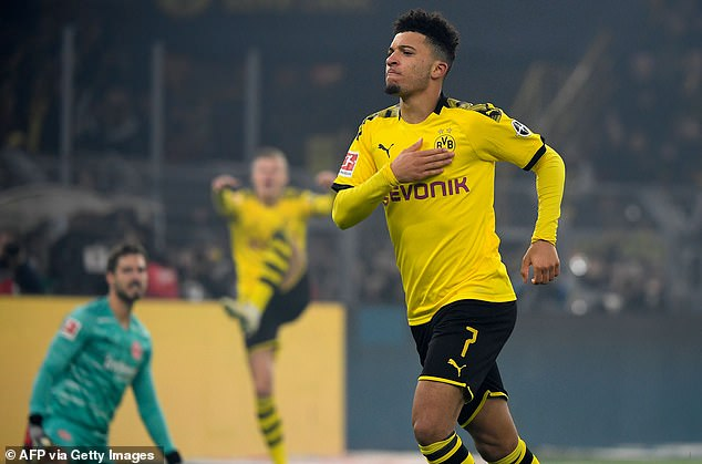 Chelsea have reportedly opened talks with the representatives of Jadon Sancho