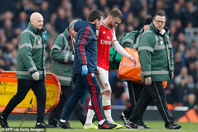 The Spaniard uses his memories of his injuries to help players such as Calum Chambers