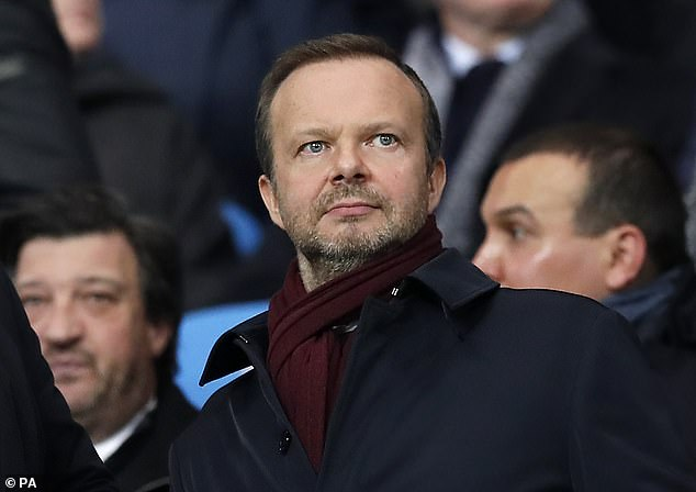 Chief executive Ed Woodward was able to make just one permanent signing last month