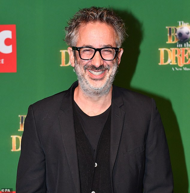 Comedian David Baddiel has often clashed with Tottenham supporters over use of the word