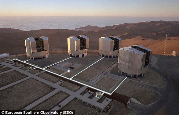 The European Southern observatory (ESO) built the most powerful telescope ever made in the Atacama Desert of northern Chile and called it the Very Large Telescope (VLT).